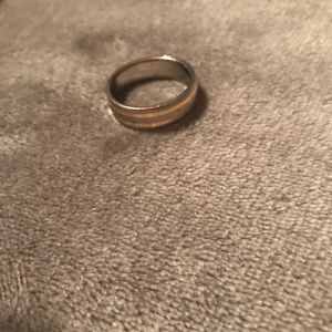 Other - MENS 14K Titanium Ring Size 12/13